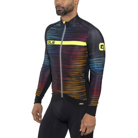 Alé Cycling Graphics PRR The End LS Jersey Men black-multicolor-yellow-fluo